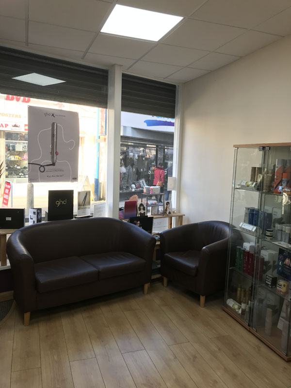 interior of solo hairdressing